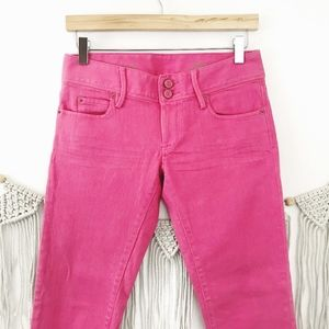 Lilly Pulitzer Worth Skinny Mini Pink Jeans C7